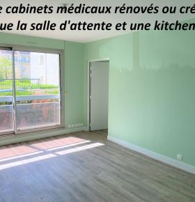 Quatre cabinets médicaux rénovés